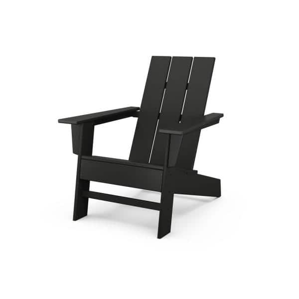 Reviews For Polywood Grant Park Black, How To Clean White Plastic Outdoor Furniture