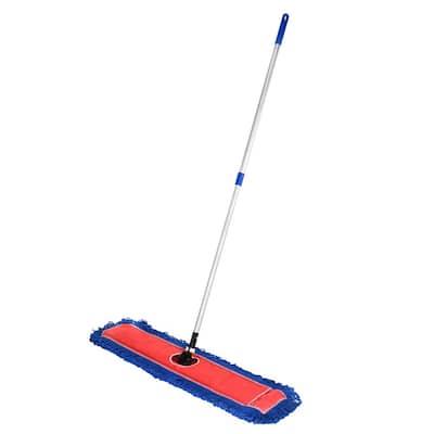 48 in. Microfiber Wet Dry Dust Mop Set with Telescopic Handle