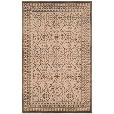 Safavieh Brilliance Cream Bronze 7 Ft X 9 Ft Area Rug Brl508d 7 The Home Depot