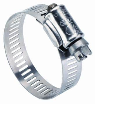 3/4 - 1-3/4 in. Stainless Steel Hose Clamp (10-Pack)