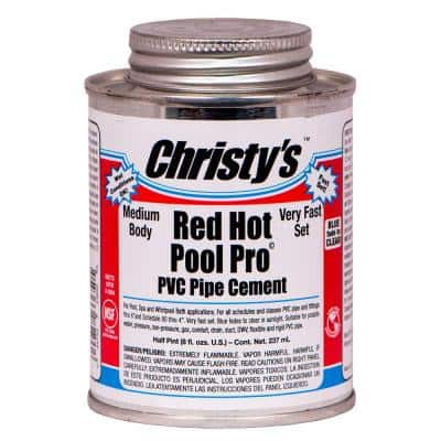 8 fl. oz. PVC Pool and Spa Pipe Cement