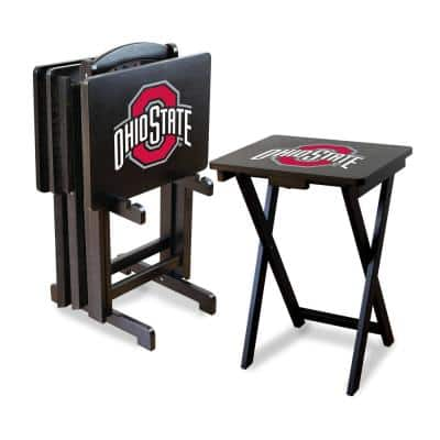 Ohio State TV Trays with Stand