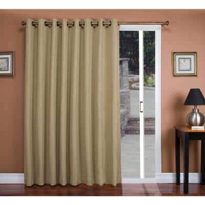 Driftwood Grommet Blackout Curtain - 106 in. W x 84 in. L