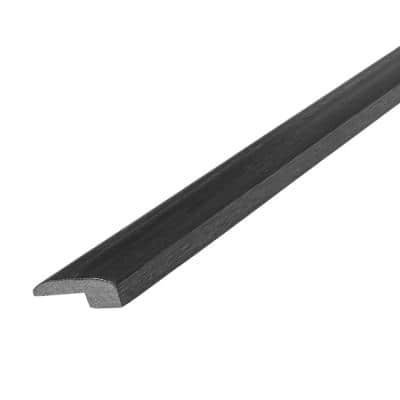 Western Hickory Espresso 5/16 in. T x 2 in. W x 78 in. L Threshold Reducer Molding