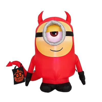 3.5 ft. Stuart as Devil Universal Airblown Halloween Inflatable