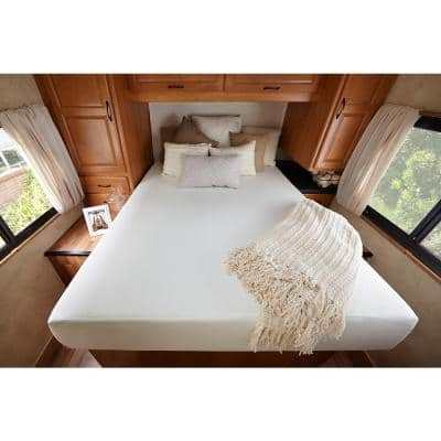 Ultima Comfort 10in. Medium Memory Foam Pillow Top Queen Short Mattress