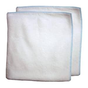 16 in. x 16 in. Microfiber Spa Towel (2-Pack)