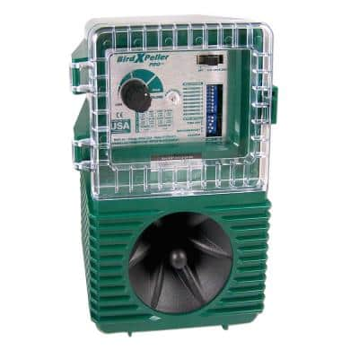 Woodpecker Pro Electronic Bird Repeller Guaranteed Woodpecker Control Solution 1-Acre Coverage