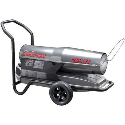 160,000 to 220,000 BTU Portable Kerosene Heater