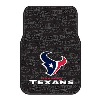 Houston Texans Multi-Color Rubber Car Front Floor Mats