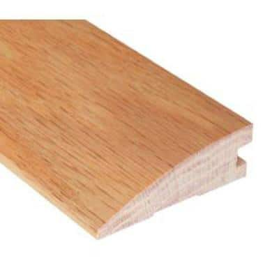 Unfinished Oak 3/4 in. Thick x 2 in. Wide x 78 in. Length Hardwood Reducer Molding