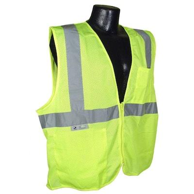 Fire Retardant green Mesh Medium Safety Vest