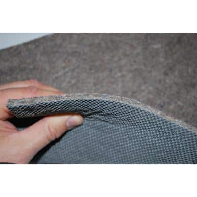 Premium All-Surface 8 ft. x 10 ft. Fiber and Rubber Backed Non-Slip Rug Pad