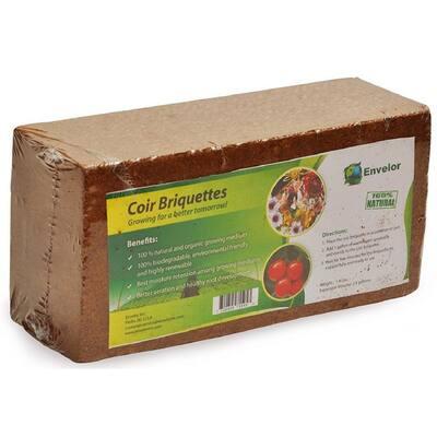 1.5 lbs. Coco Coir Briquette Potting Soil (3-Pack)