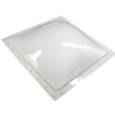 Inner Garnish Dome with No Window - 16 in. x 26 in., White