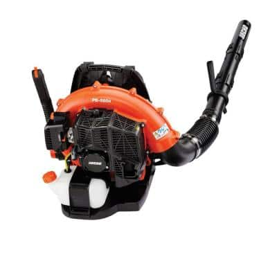 216 MPH 517 CFM 58.2 cc Gas 2-Stroke Cycle Backpack Leaf Blower with Hip Throttle