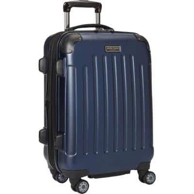 """""""Logan Square"""" Collection Lightweight Hardside ABS 8-Wheel Expandable 20 in. Carry-On Luggage With Corner Guards"""