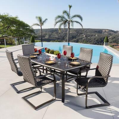 Barcelo 7-Piece Aluminum Outdoor Dining Set