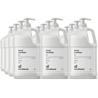 128 oz. Gel Hand Sanitizer With Pump (12-Pack)
