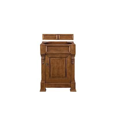 Brookfield 26 in. W Bathroom Single Vanity Cabinet Only in Country Oak