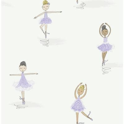 Tiny Dancers Paper Strippable Roll (Covers 56 sq. ft.)