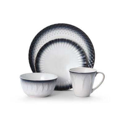 Blake 16-Piece Stoneware Dinnerware Set (Service for 4)