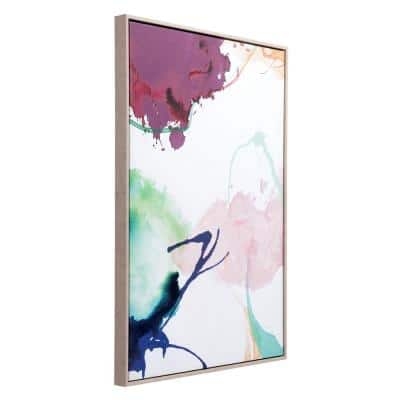 """""""Abstract Party"""" Printed Canvas Wall Art 24.8 in. x 36.6 in."""