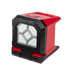 M18 18-Volt 1500 Lumens Lithium-Ion Cordless Rover LED Mounting Flood Light (Tool-Only)