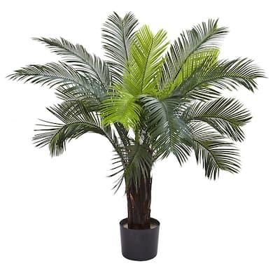 Indoor and Outdoor 3 ft. Artificial Cycas Tree UV Resistant