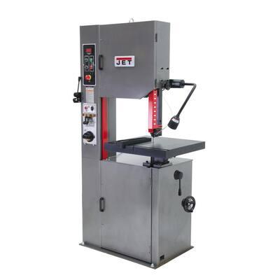 16 in. 2 HP, 230-Volt/460-Volt Metalworking Vertical Bandsaw 3Ph