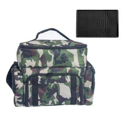 Polyester Camo Print Lunch Box Cooler