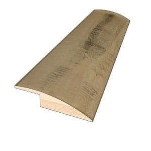 Homestead 3/8 in. Thick x 1-1/2 in. Wide x 78 in. Length Hardwood Overlap Reducer Molding