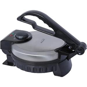 Black Nonstick Electric Tortilla Maker