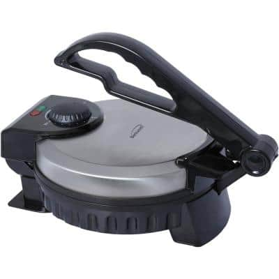 Black Nonstick Electric Tortilla Maker
