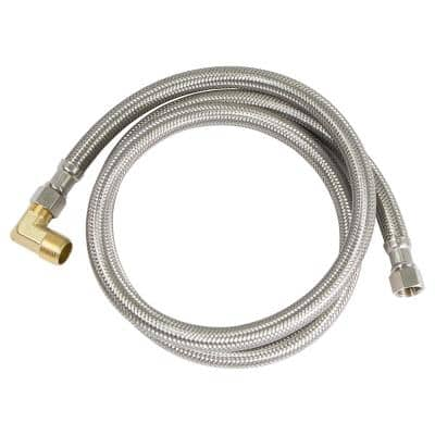3/8 in. x 3/8 in. x 120 in. Braided Dishwasher Connector