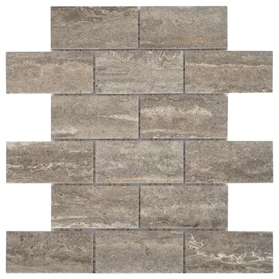 Pool Mosaic Tile Tile The Home Depot
