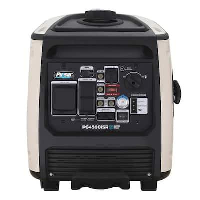 4,500/3,700-Watt Powered Remote/Electric/Recoil Start Gasoline Portable Inverter Generator 224 cc CARB Compliant