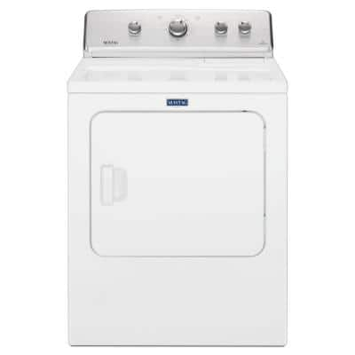 7.0 cu. ft. 120-Volt White Gas Vented Dryer with Wrinkle Control