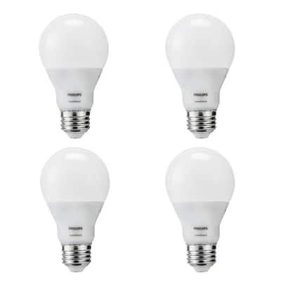 60-Watt Equivalent A19 SceneSwitch Energy Saving LED Light Bulb Daylight (5000K) (4-Pack)