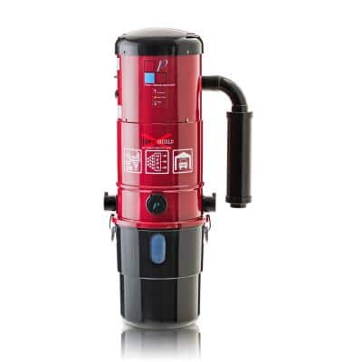 Red 2 Speed Motor Central Vacuum Power Unit