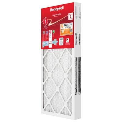 12 in. x 20 in. x 1 in. Allergen Plus Pleated Air Filter MERV 11 - FPR 7 (2-Pack)