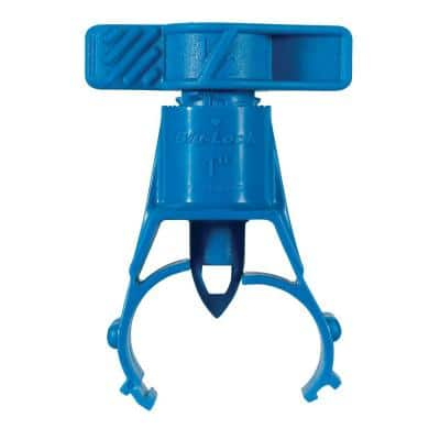 1 in. Blu-Lock Saddle with Barb Adapter (2-Pack)
