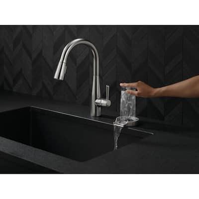 4 in. Glass Rinser in SpotShield Stainless