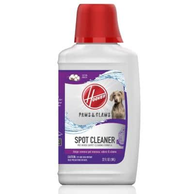 32 oz. Paws and Claws Pet Stain Remover Portable Spot Carpet Cleaner Solution
