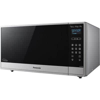 1.6 cu. ft. Built in or Countertop Microwave Oven in Fingerprint-Proof Stainless Steel