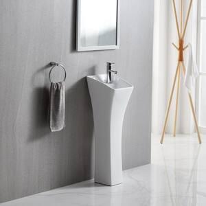 Toto Nexus Sink Pedestal In Sedona Beige Pt790 12 The Home Depot