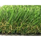 GREENLINE 3D-W Pro 80 Spring 15 ft. Wide x Cut to Length Artificial Grass