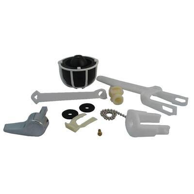 Touch Flush Full Assembly Kit, Fits Eljer Toilets