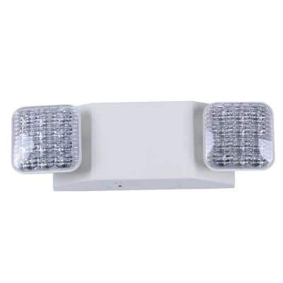 Rectangle 11-Watt Equivalent Integrated LED White Emergency Light with Ni-Cad 6.0-Volt Battery
