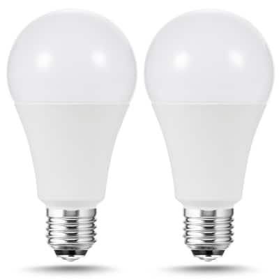 50-Watt/100-Watt/150-Watt Equivalent A21 3-Way LED Light Bulb in Cool White/Daylight/Soft White (2-Pack)